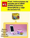 PlusL instrucciones de remake para LEGO 10695,Soporte de Smartphone y caja de accesorios: Usted puede construir Soporte de Smartphone y caja de accesorios de sus propios ladrillos