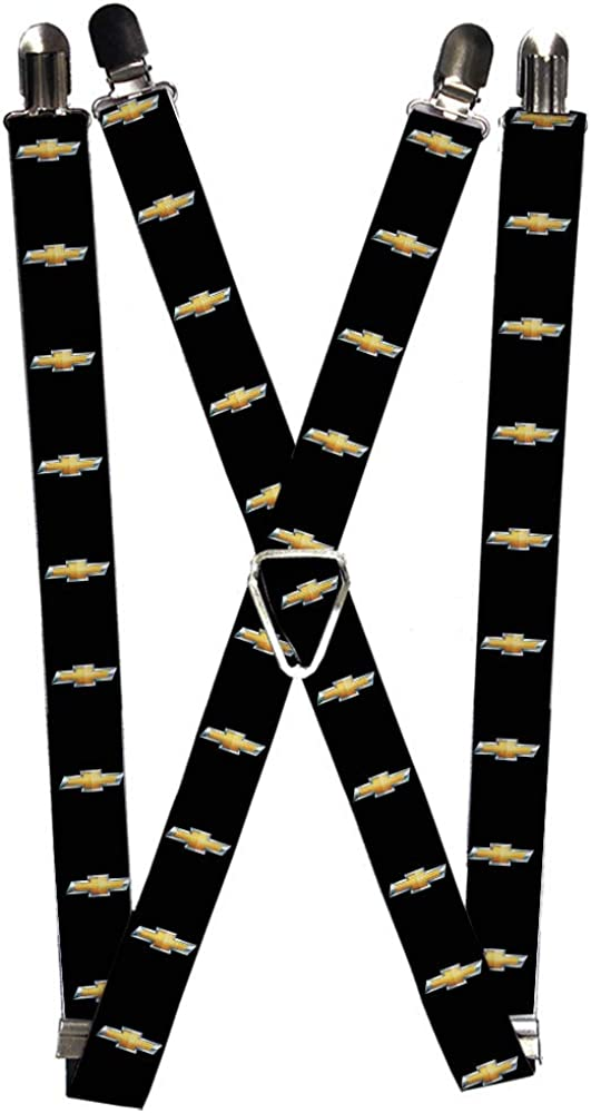 Buckle-Down Men's Suspender-Chevy, 3.5