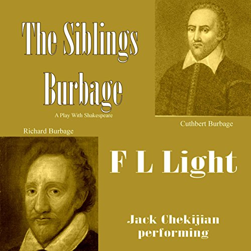 The Siblings Burbage: A Play with Shakespeare Titelbild