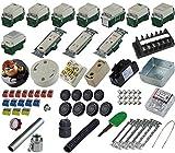 準備万端シリーズ 第二種電気工事士技能試験練習用材料「全13問分の器具セット」 (2021年度版) 有限会社ジェイメディアネット 2021d2-k