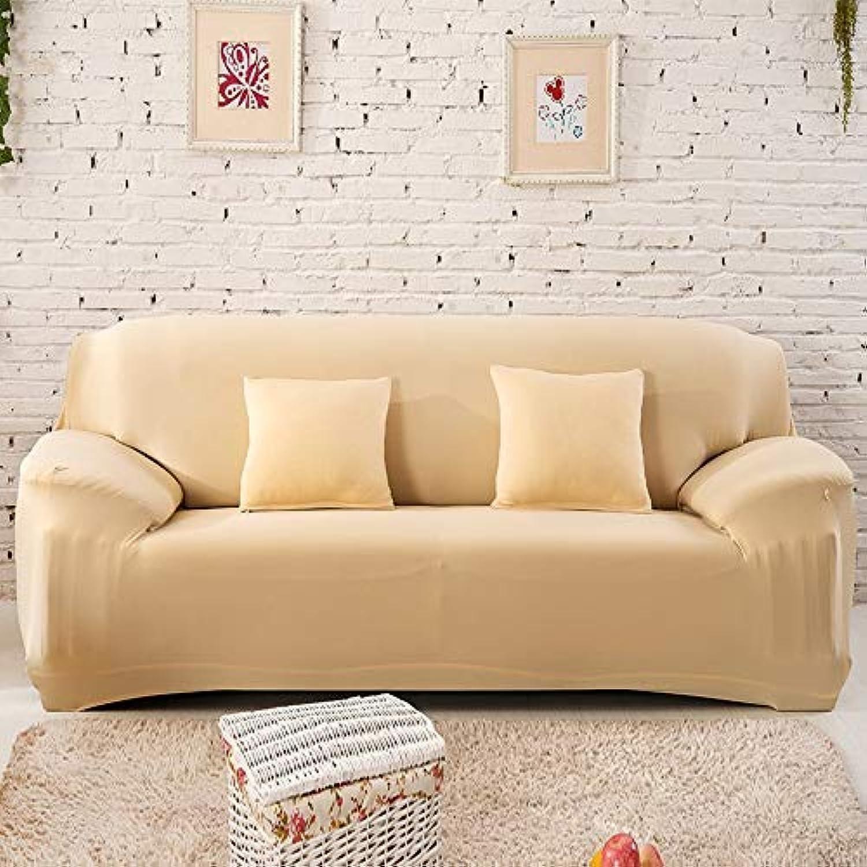 ahorre 60% de descuento BAIF Tamao Universal Funda de sofá sofá sofá Gran Elasticidad Fundas de sofá Sofá de Asiento Funiture Fundas Flexibles para el hogar Imprimir Todo Envolver Boda (90-300cm), Crema, 1 Plazas 90-140cm  en stock