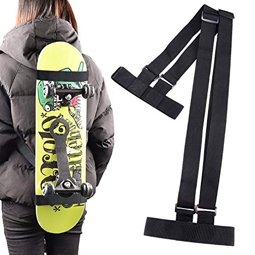 Skateboard Shoulder Carrier Skateboard Carry Bag Backpack with Drawstring