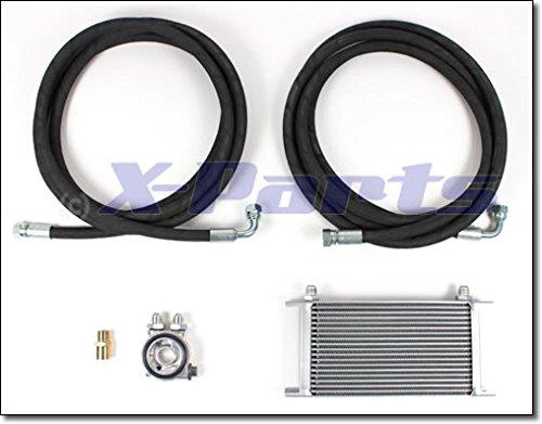 Ölkühleranlage Bulli Ölkühler 19 Reihen Thermostat Adapterplatte 1031029x