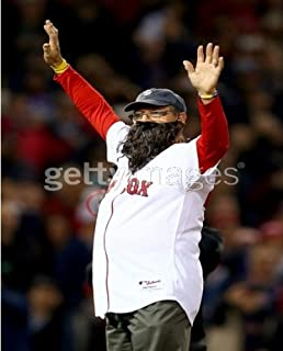 MLB Carlton Fisk Boston Red Sox 2013 World Series Game 6 Photo 8x10