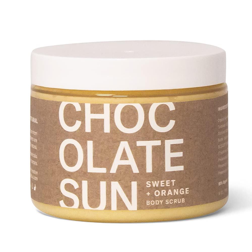 2021 autumn and winter new Chocolate Sun Max 55% OFF - Organic Body Non-Toxic Scr Clean Beauty Scrub