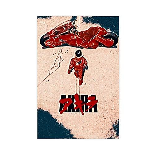 Póster retro de Akira de la serie de películas para decoración de...