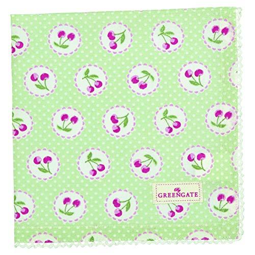 GreenGate - Serviette - Stoffserviette - Cherry/Kirsche - Baumwolle - 40 x 40 cm