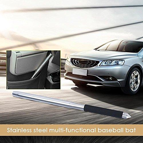 Stainless Steel Multi-Functional Baseball Bat, Car Emergency Stick