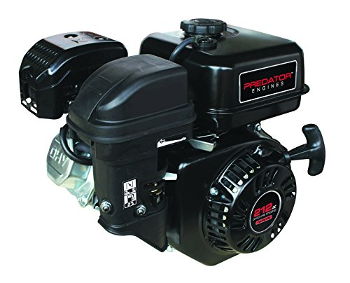 Predator 6.5 HP 212cc OHV Horizontal Shaft Gas Engine - NOT Certified for California; Fuel Shut Off...