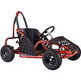 Go-Bowen XW-GGK1-R Gas Kids Go-Kart44; Red
