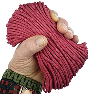 MilSpec Paracord/Parachute Cord, 8 or 11 Strands, 600 or 800 lb. Break Strength. Guaranteed Military Specification Compliant, 550 or 750 Survival Cord, Made in USA. 2 EBooks & Copy of MIL-C-5040H. from Paracord 550 MilSpec (TM)