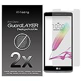 2x LG G4 Stylus - Bildschirm Schutzfolie Matt Folie Schutz Bildschirm Anti Glare Screen Protector Bildschirmfolie - RT-Trading