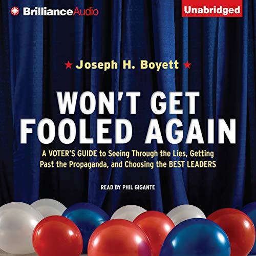 Won't Get Fooled Again audiobook cover art