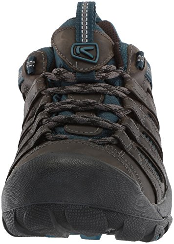 KEEN Men's Voyageur-M Hiking Shoe, Alcatraz/Legion Blue, 12 M US