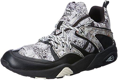 Puma Blaze of Glory Yin Yang Sneaker Men Trainers 359687 01 White, Numero di Scarpe:EUR 37.5