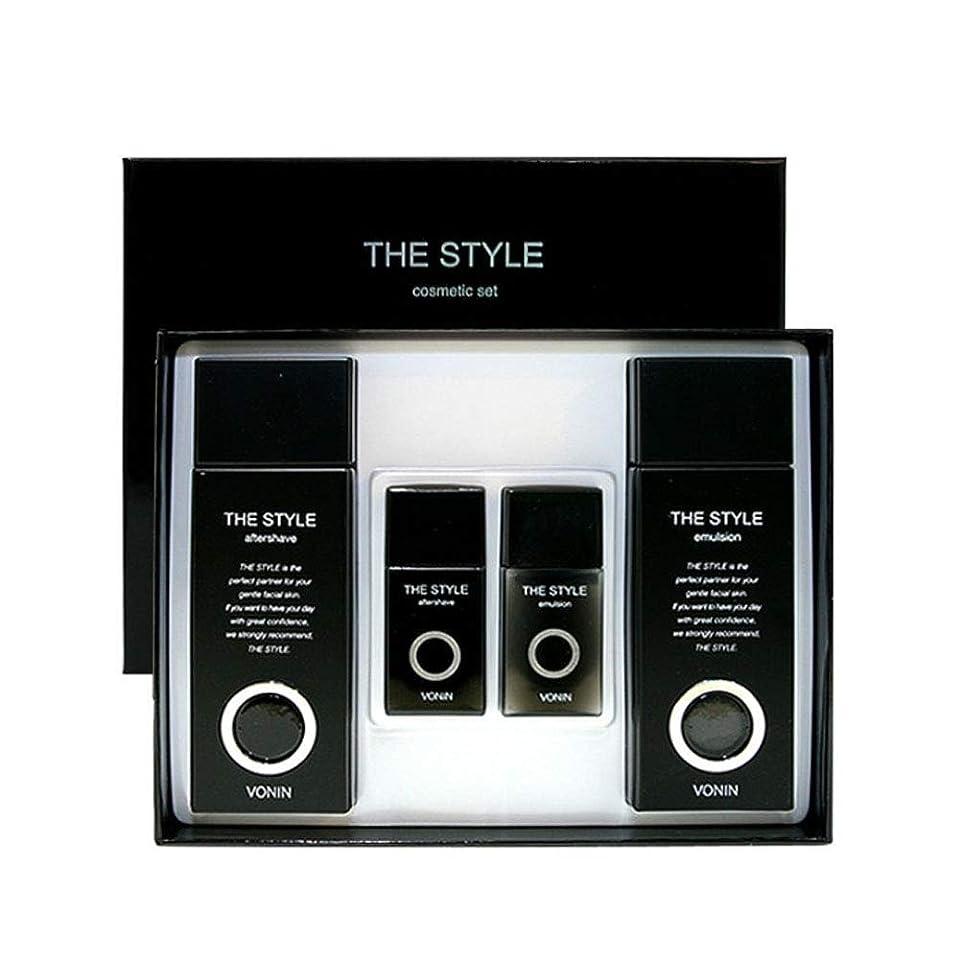 モッキンバードギャングスター不健全ボニンダースタイルアフターシェーブ170ml(135+35)エマルジョン170ml(135+35)セットメンズコスメ韓国コスメ、VONIN The Style Aftershave 170ml(135+35) Emulsion 170ml(135+35) Set Men's Cosmetics Korean Cosmetics [並行輸入品]