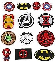 Marvel Avengers Hulk Parche Termoadhesivo Decorativo para Ropa 6,5 x 5,3 cm