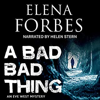 A Bad, Bad Thing audiobook cover art