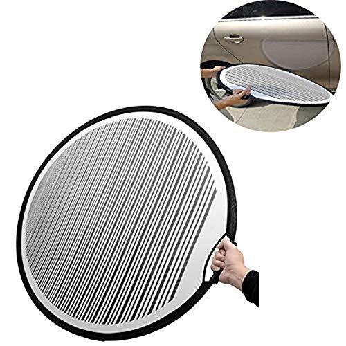 SFASTER Ausbeulwerkzeug 80cm Faltbar Gefüttert Dellen Reflektor Board Tuch Tragbar Flexibel Reflektor Linie Board Kratzer für Dellen Entferner Automotive PDR Werkzeuge