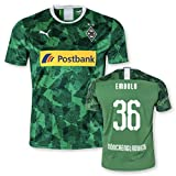 PUMA BMG Borussia Mönchengladbach Erwachsene Trikot Third Europapokaltrikot 2019/20, Größe:L, Spielername:36 Embolo