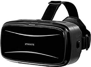 STREETZ 42 mm lins virtuella 3D-glasögon för 5,9-tums smartphone – svart