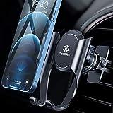 Handyhalter fürs Auto, DesertWest 【mit Automatische Erinnerungsfunktion】 Handyhalterung Auto Lüftung Universale Handy KFZ Halterungen Phone Halter für iPhone, Samsung, Huawei, LG und mehr