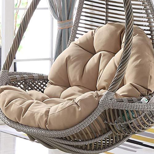 SXFYGYQ schommelstoel multifunctioneel verwijderbaar wasbaar voor vogel nest opknoping ei stok stoel dikke comfortabele kussen (zonder stoel)