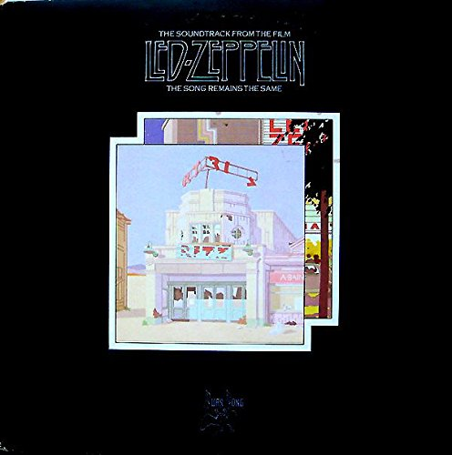 LED ZEPPELIN the soundtrack from the film, the song remains the same. First Uk press 1976, matrix A2, B3, etc, with 8 page attached photo insert, On Swan Song label.