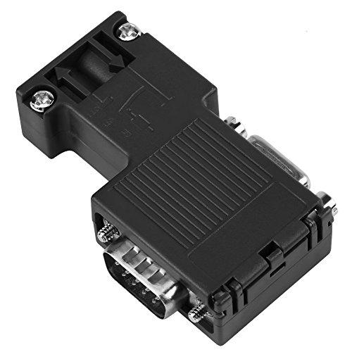 90 ° Programmierkabel Schnittstelle Profibus-Stecker Kompatibel Siemens PLC 6ES7 972-0BB12-0XA0 mit DP-Kabelschnittstelle