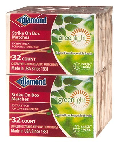 For Sale! GreenLight Diamond Strike on Box Matches, 32 Count (Pack of 10)
