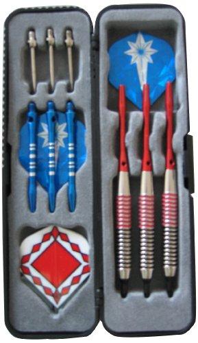 Solex Sports - Set di Freccette con Scatola, Multicolore (Multicolore), 19.4 x 14,6 x 1,3 cm