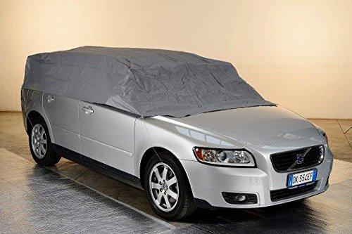 Kley & Partner Halbgarage Auto Abdeckung Plane Haube wasserdicht UV resistent kompatibel mit Volkswagen VW EOS mit und ohne Hardtop