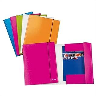 formato A4/Magic Clip File Leitz/ /Cartellina ColorClip Confezione da 6 colore: nero Blue
