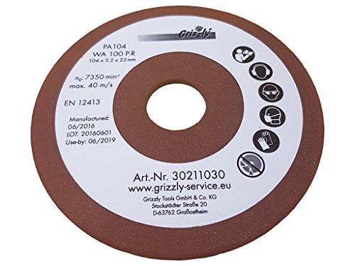 Disco abrasivo afilador de cadenas apto para Florabest FSG 85 D1 IAN 285177