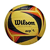 Wilson OPTx Avp VB Replica Ballon de Volleyball Jaune Taille Officielle