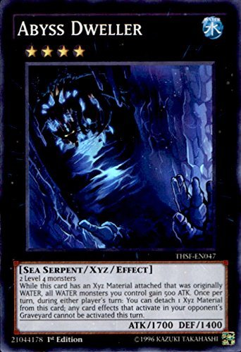 YU-GI-OH! - Abyss Dweller (THSF-EN047) - The Secret Forces - 1st Edition - Super Rare