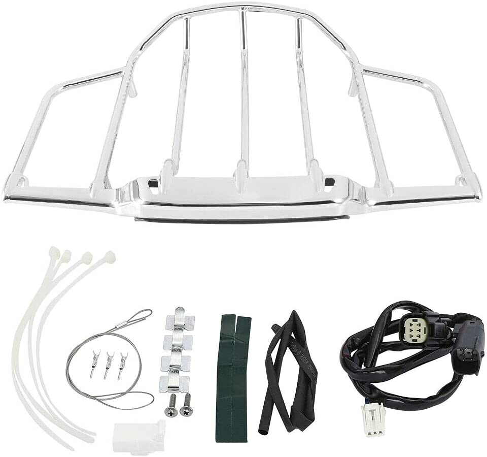 TCMT Trunk Luggage Rack Portland Mall LED Light Pak Fit Selling For Harley Tour Tourin