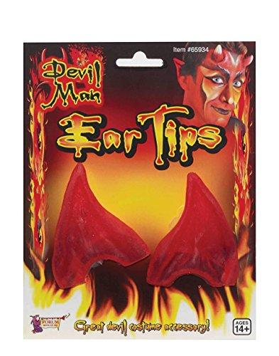 Devil Ear Tips. Red