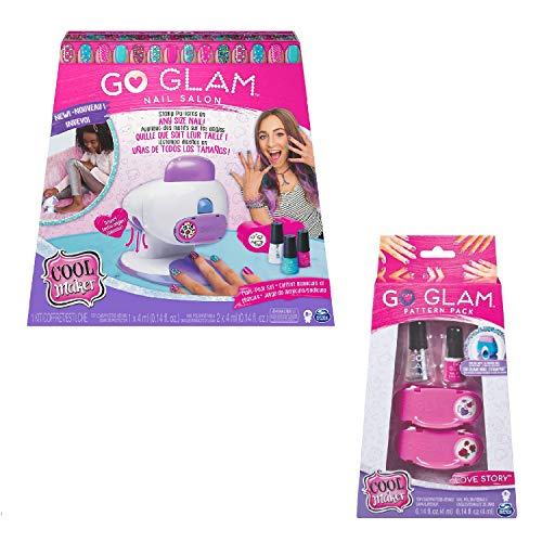 Cool Maker Bundle 6054791 - Go Glam 2 in 1 Nagel Salon & Nachfüllpack Lovestory
