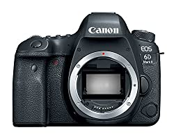 Canon 6D camera on white background - - Clicking this image will take you to the Amazon sales page for the product
