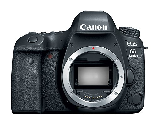 $500 Off Canon EOS 6D Mark II Digital SLR Camera Body, Wi-Fi Enabled $1299