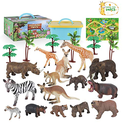 Toy Animals for Toddlers Zoo Ani...