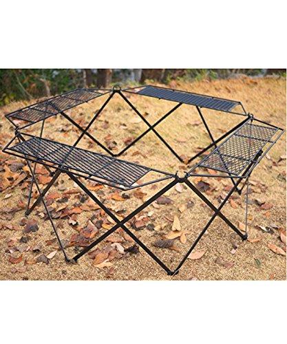 ネイチャートーンズ オクタゴンファイヤーテーブル 本体 ブラック (OCTFT-B) キャンプ テーブル Nature tones