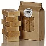 SIMPLICI Oatmeal & Honey Bar Soap Value Bag (6 Units at 4.5 OZ Each)