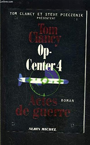 Tom Clancy's Op-Center: Mirror Image (Paragon Softcover Large Print Books)