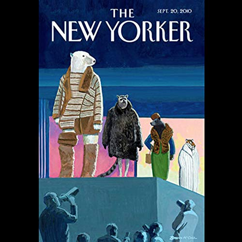 The New Yorker, September 20th 2010 (Jose Antonio Vargas, John Seabrook, Lawrence Wright) audiobook cover art