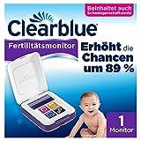 Clearblue Kinderwunsch Fertilitätsmonitor: Zykluscomputer zum Testen auf Eisprung und Schwangerschaft. Erhöht nachweislich die Chancen, auf natürliche Weise schwanger zu werden, um 89 %