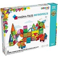Magna Tiles Metropolis Set for 3 Years + (110 Pieces)