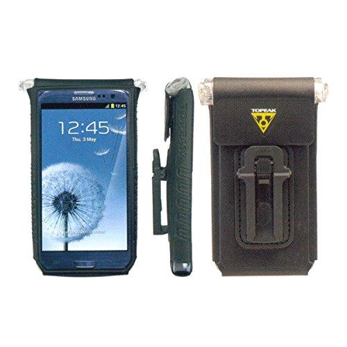 Topeak Unisex-Adult Fahrt Hülle DryBag Handytasche für 4-5 Zoll Smartphones, Black, One size