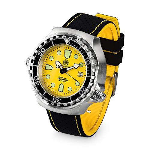 Tauchmeister Reloj de buceo automático T0047SE - 100 ATM - 46 mm